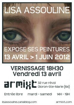 Exposition PEINTURES | Lisa Assouline
