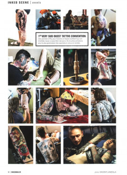 Inked magazine - juillet aout 2014 - convention tattoo pau